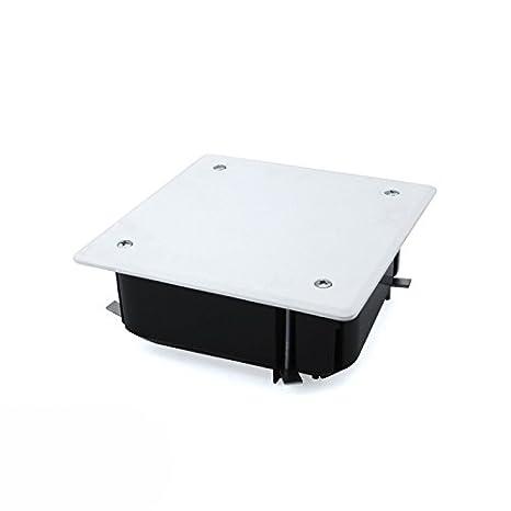 Caja de empalme empotrar 100x100 tabique hueco: Amazon.es: Bricolaje y herramientas