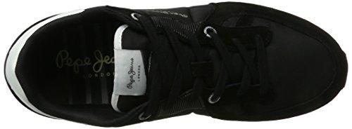 Pepe Jeans Uomo Tinker Bold 17 Sneaker Nero (nero)