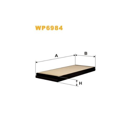 Wix Filters WP6984 Cabin Air Filter: