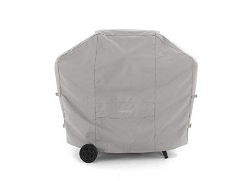 Covermates - BBQ Grill Cover - Fits 53 Inch Width, 24 Inch Depth and 44 Inch Height - Ultima Ripstop - 600D Fade Resistant Poly - Covered Mesh Vent Promotes Air Flow - 7 Year Warranty - Ripstop Grey