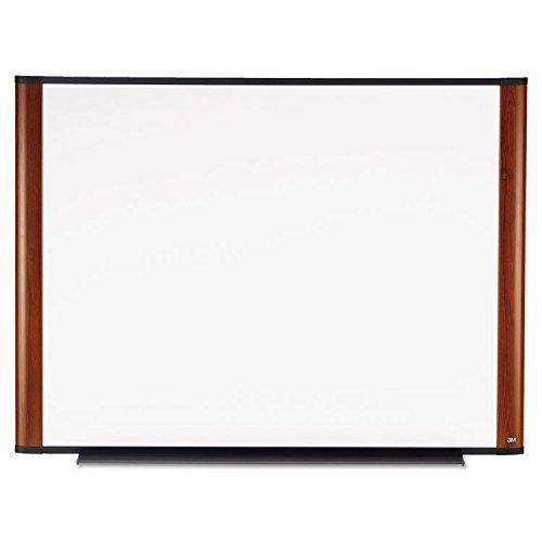 3M M4836MY Dry-Erase Boards, Melamine, 4'x3', Mahogany Frame by instrainclug