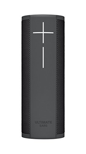 Ultimate Ears BLAST Portable Wi-Fi/Bluetooth Speaker with hands-free Amazon Alexa voice control (waterproof) – Graphite Black