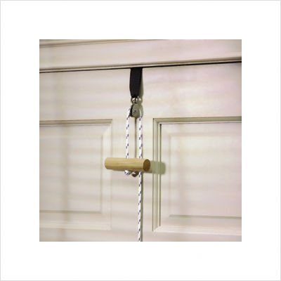 Cando Overdoor Single Pulley Exerciser with Strap
