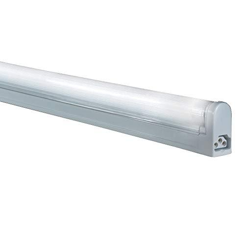 Jesco Lighting SG4-22/50-W Sleek Plus Classic Grounded 22-Watt T4 Light Fixture, 5000K Color, White Finish ()