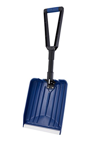 ORIENTOOLS Collapsible Folding Snow Shovel with D-Grip Handle and Durable Aluminum Edge Blade(Blade 11