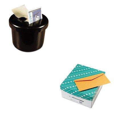 KITLEE40100QUA25762 - Value Kit - Quality Park Kraft Envelope (QUA25762) and Lee Ultimate Stamp Dispenser (LEE40100)