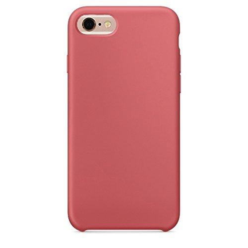 Phone Case & Hülle Für iPhone 6 Plus und 6s Plus reine Farbe flüssiges Silikon + PC schützende rückseitige Abdeckungs-Fall ( Size : Ip6p0423r )