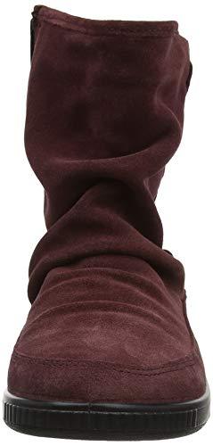 Pixie Stampare Più Donne Delle 159 Rosso marrone Stivali Calde Slouch xF8wtZFg