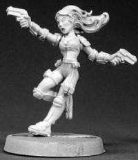 Reaper Miniatures 50007 Veronica Blaze, Agent Of Guard
