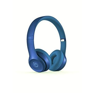 Beats Solo 2 Wired On-Ear Headphone - Sapphire Blue (Certified Refurbished)