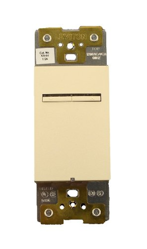Leviton ATF01-1LA, Acenti 1.5 Amp Quiet Digital Fan Speed Control, Single-Pole, 3-Way or More Applications, ()