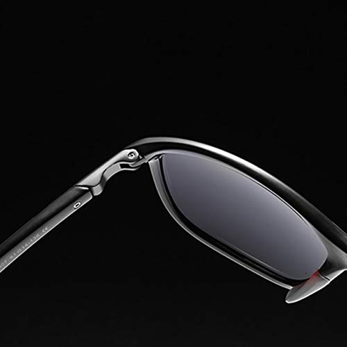 Fashion Mens Square Frame Driving car Polarized Sunglasses Eye Eyewear Lightweight Oversized Eyeglasses