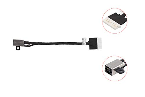 Replacement DC Power Jack Charging Port Socket Connector Plug Cable Harness for Dell Inspiron 15 3567 5664 i3567-5185BLK-PUS i3567-5820BLK i3567-3919BLK FWGMM 0FWGMM 450.09W05.0001