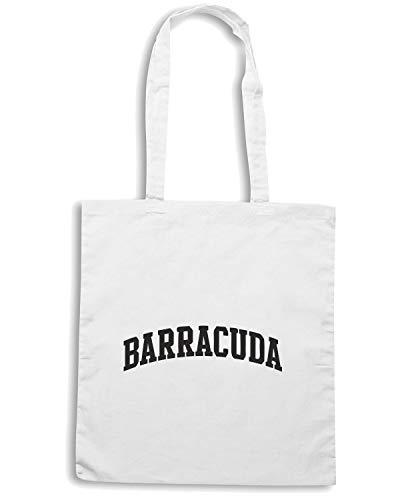 Shirt Speed BARRACUDA OLDENG00016 CURVE Borsa Shopper Bianca rrwdqO