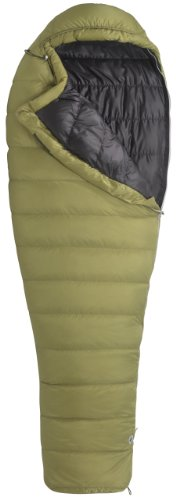 Marmot Hydrogen Down Sleeping Bag, Regular Left, Green