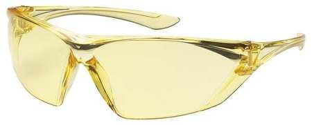 Bouton Optical Amber Safety Glasses, Anti-Fog, Scratch-Resis