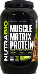 NutraBio Muscle Matrix Protein - 2 pounds (Dutch Chocolate) Matrix Chocolate