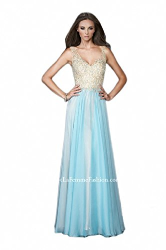 Buy long prom dress by la femme - 6