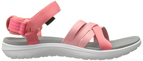 Teva Womens Sanborn Sandalo Rosa Corallo