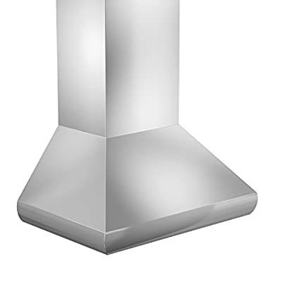 ZLINE 30 in. 400 CFM Remote Blower Wall Mount Range Hood in Stainless Steel (687-RS-30-400)