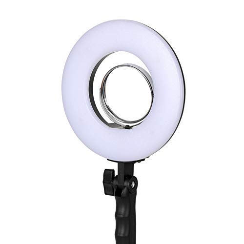 Peaceip US Ring Light 10in External Dimmable LED Ring Light 24W-5500K Lighting Kit for YouTube Video and Makeup with Desktop Tripod - Phone Clip