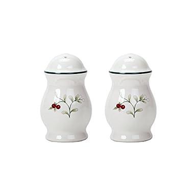 Pfaltzgraff Winterberry Stoneware Salt-and-Pepper Set