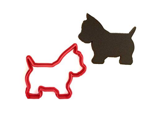 Westie Terrier Dog Cookie - Dog Cutter Cookie Scotty