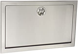 product image for Koala Kare KB110-SSRE Horizontal Recessed Baby Changing Station, Stainless Steel