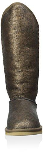 Australia Luxe Collettivo Donna Accogliente Alto Avvio Crackle Nero / Oro