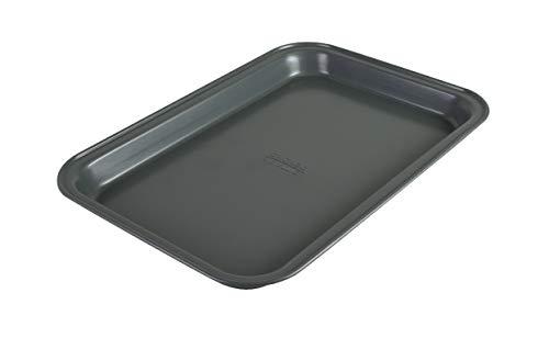 Chicago Metallic 8044 Non-Stick Toaster Oven Bakeware Set, 4-Piece, Carbon Steel