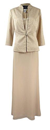 Dresses Evening Jacquard Dress - 4