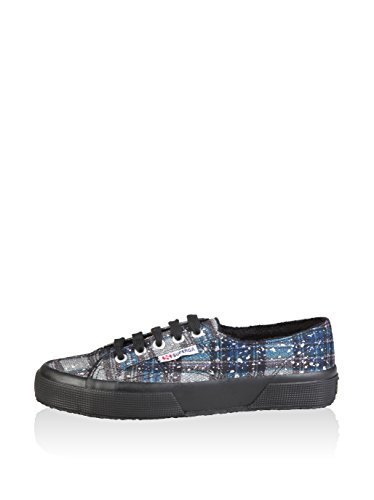 Basse Superga Woman Metallicmeshcheckw Glacées 2750 Blanches Baskets rgqgEHR