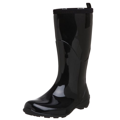 Kamik Women's Heidi Rain Boot,Black/Noir,6 M US