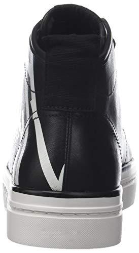 Hautes Femme black Noir Baskets Calvin Klein 000 Kayce Print white qCxUwRvBH