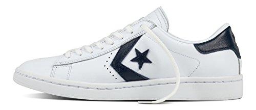 unisex BLANCO CONVERSE 555930C deporte AZUL Azul baja OX LP zapatillas de PL Blanco fUqUg4