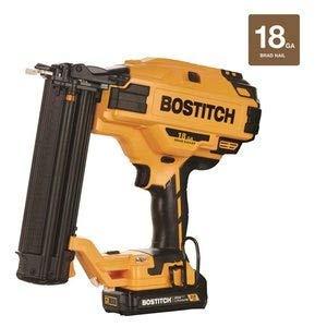 BOSTITCH 20V MAX Cordless Brad Nailer Kit, 18GA (BCN680D1)
