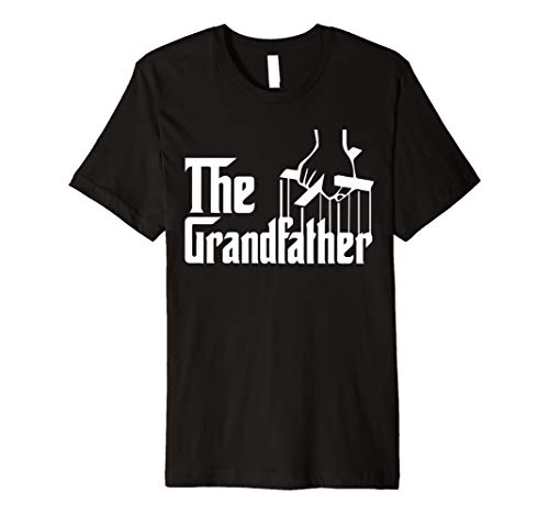 Mens The Grandfather Fathers Day Gift Grandpa Movie Graphic Shirt