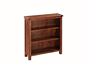 newest 2aebf 9d772 Pendleton Acacia Low Bookcase - Low Shelving Unit - Finish : Acacia Dark  Oak - Living Room - Dining Room - Home Office Furniture