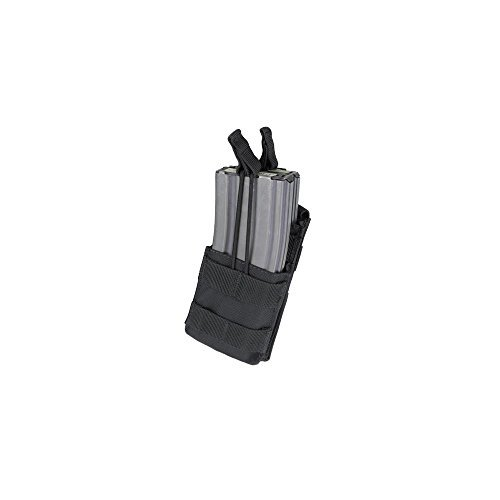 Strike M4 Double Mag Pouch (Condor Single Stacker M4 Mag Pouch - Black - MA42-002)