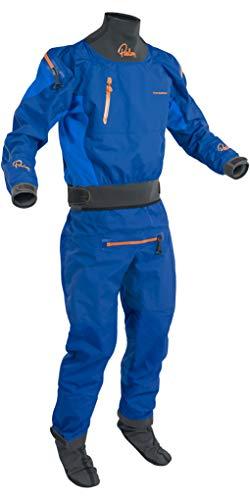 Back Zip Drysuit - Palm 2019 Mens Atom Back Zip Kayak Drysuit + CON Zip Colbalt/Ocean 12380 Drysuit Size - M