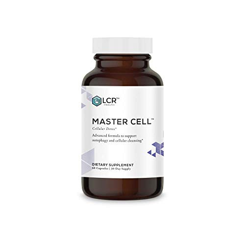 LCR Health™ Master Cell™ Cellular Detox Support, 60 Count