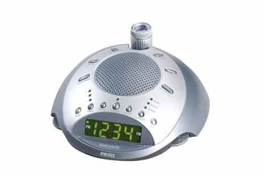 HoMedics SS-4000 Sound Spa Classic Deluxe Clock Radio & Sound Machine with Time - Clock Homedics Projection Radio