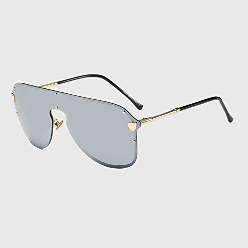 Großen Unisex Männer Übergroßen Brille KLXEB Rahmen Moda C5 Uv400 Modebrillen Sonnenbrille Frauen C2 2018 Vintage nvqwYTAw