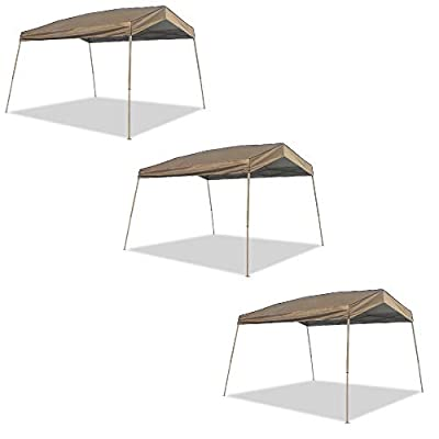 Z-Shade 12 x 14 Foot Panorama Instant Pop Up Canopy Tent Outdoor Tent (3 Pack): Sports & Outdoors