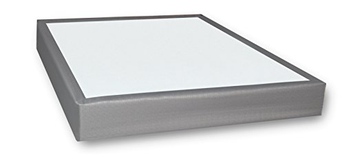 Whisper Sleep Quiet Bed Foundation (Twin, Silver Gray) by Stratiform