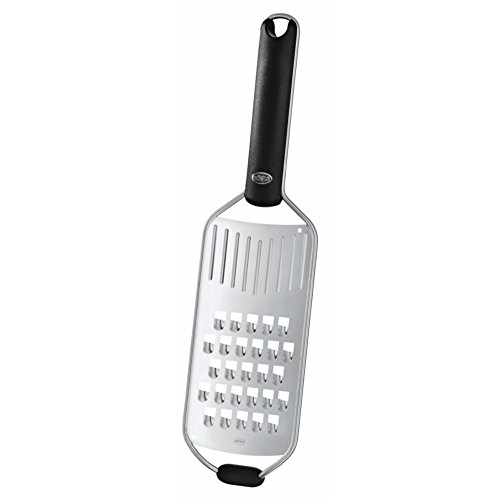 Cheese Rosle Steel Stainless (Rösle Stainless Steel Coarse Grater, Silicone Handle, 13-inch)