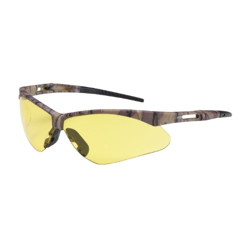 Protective Anser 250-AN-10127 Semi-Rimless Safety Glasses...