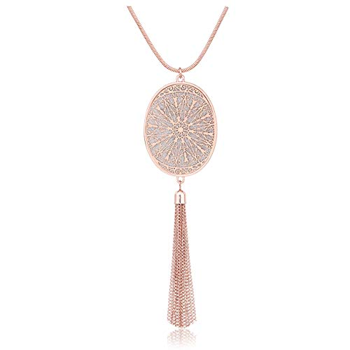 Jewellery & Watches Honesty Women Long Necklace Zodiac Birth Stone Tassels Stainless Steel Sweater Necklace Adjustable Bead Female Collier 2018 New A Complete Range Of Specifications