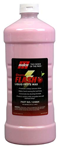 Malco Cherry Flash Liquid Paste Wax, 64 Oz. (124864)