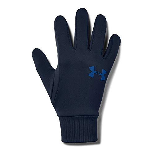 Under Armour Men's Armour Liner 2.0 Gloves, Academy (408)/Royal, Large